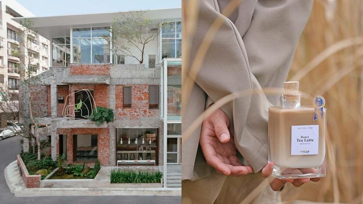 美到刷新你的三觀!台中手搖飲料店「三層陽光屋」夢幻程度太不真實,還直接把整座茶園搬進來!