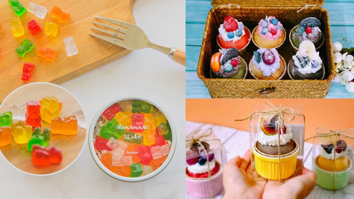 真的不能咬一口嗎?!10款精緻甜點居然全是「香皂&蠟燭」,超Q萌小熊軟糖皂居然還有糖果香啊♥