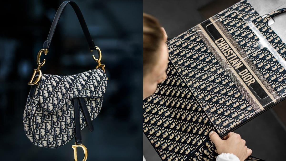 Dior讓你乖乖掏出荷包的10個小秘密~品牌經典「老花Oblique」馬鞍包、蒙田包讓男女都愛死!