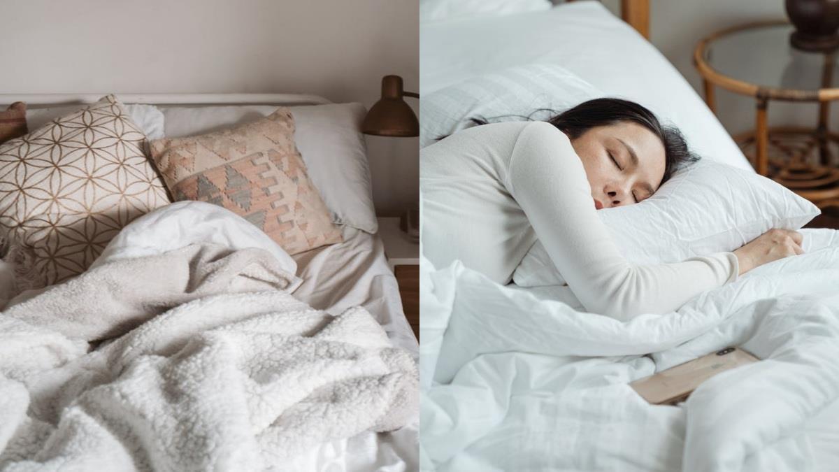 棉被要怎蓋最暖?超保暖「三明治蓋被法」順序很重要,加碼4種棉被材質比較,找出專屬睡覺好夥伴~