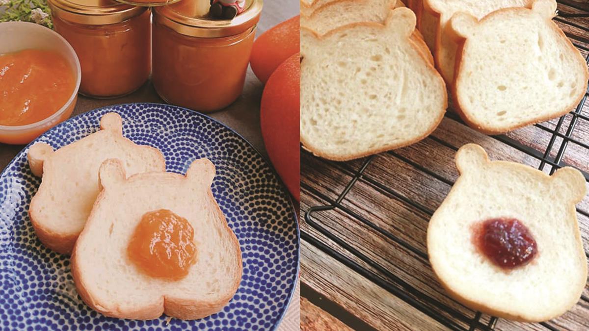 大口把維尼吃下肚!麵包坊推超療癒「小熊維尼造型吐司」,圓潤外表、超Q耳朵,根本捨不得吃啦~