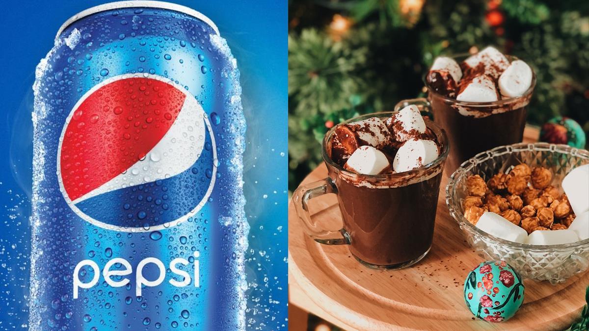 根本是可以喝的甜點!百事可樂2021新推出「可可棉花糖口味」,集結3種邪惡甜食征服螞蟻人的心~