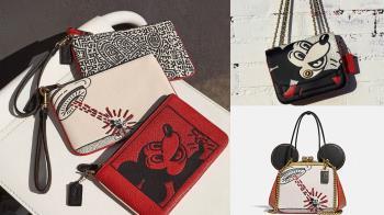 1月限定店開賣!「COACHxDISNEY 全新聯名」復古時尚超Q,百搭口金包&相機包拿在手上就是口愛啦~