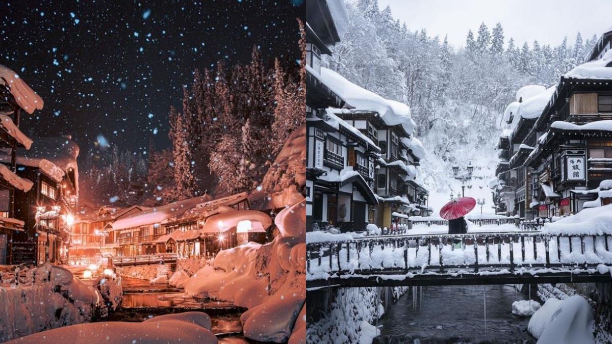 現實版《神隱少女》湯屋場景!日本「銀山溫泉」保留舊街風貌,冬季漫天雪景怎麼拍都像一幅畫♥