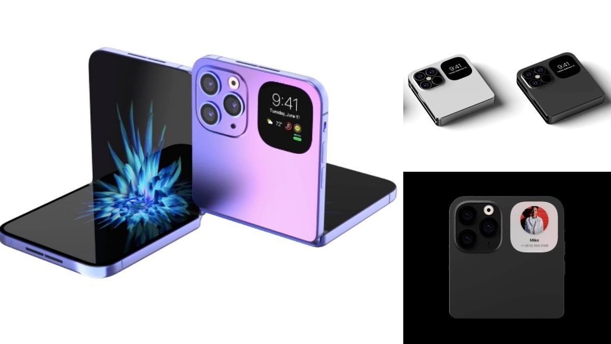 Apple將推2款摺疊機?!iPhone「小巧粉餅機」推出時間曝光,超寬螢幕完全可以取代平板啦~