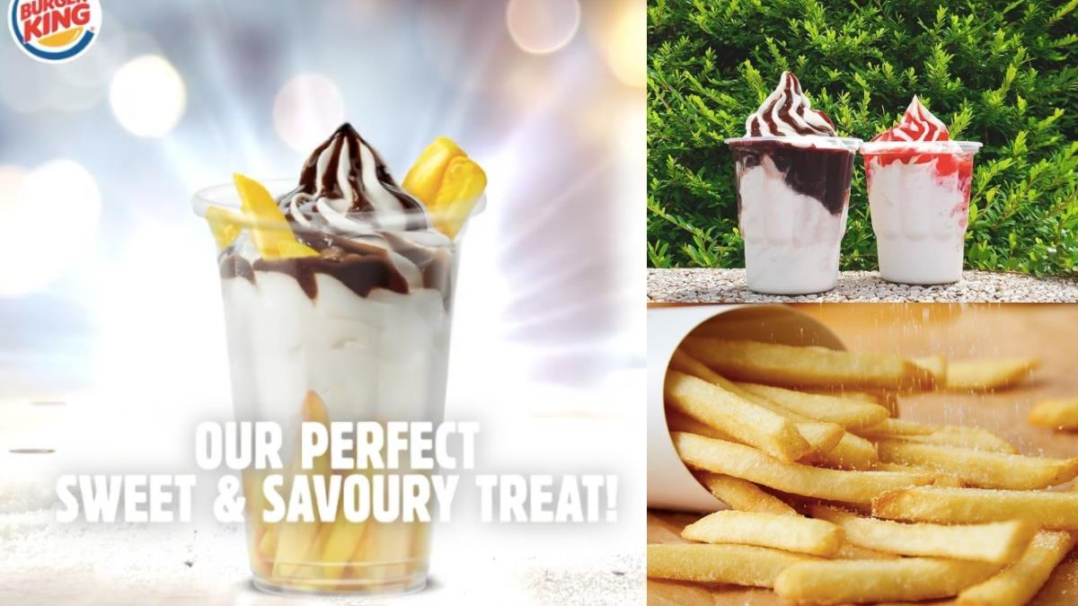 薯條的官配換人了?!速食店正式推「巧克力薯條聖代杯」,又冰又熱、又鹹又甜吃過都說這才叫正宮!