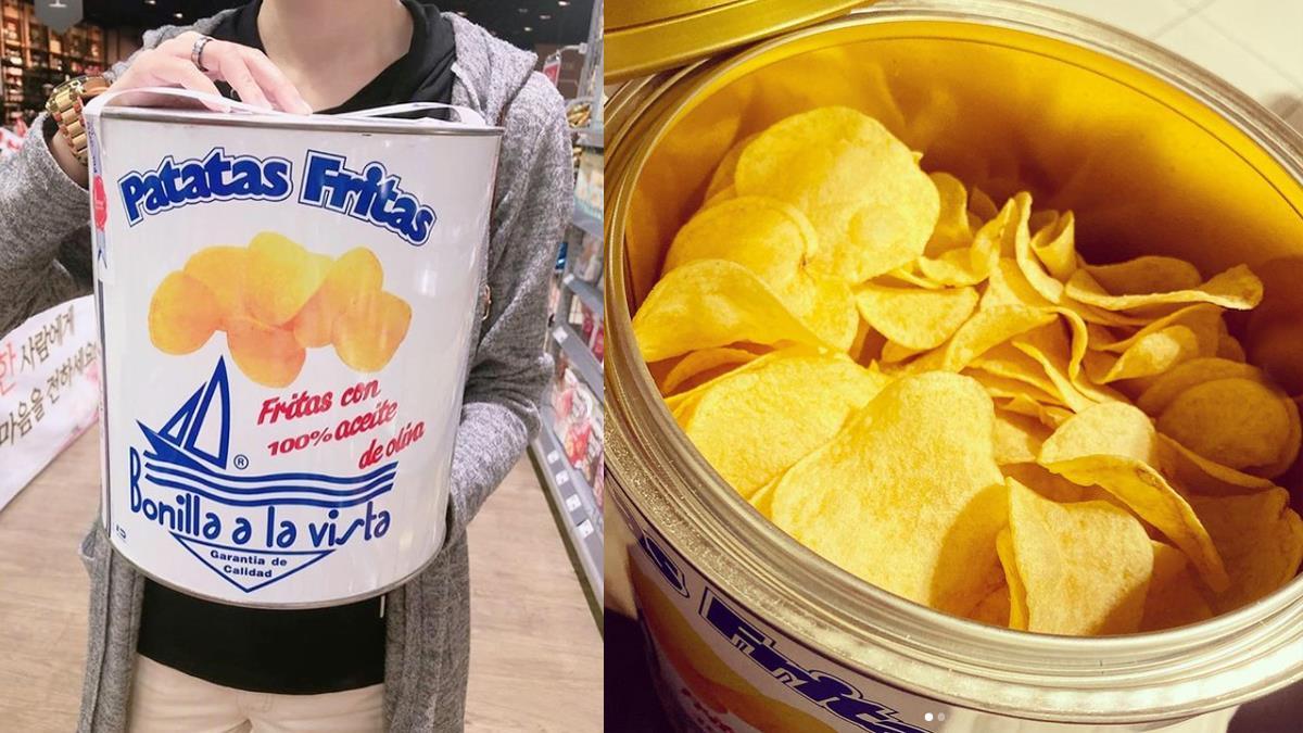 這罐油漆會不會太心動!韓國爆紅「油漆桶洋芋片」外觀超仙,吃起來無負擔、逼人開心大口吃♥