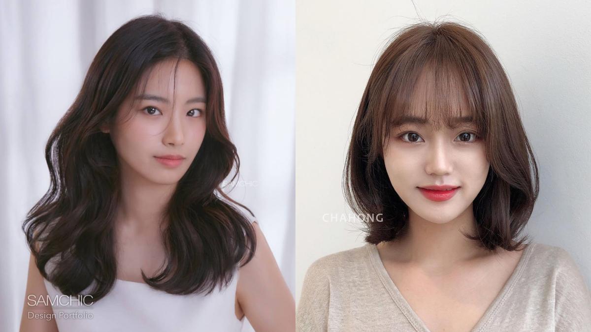 2021日韓妞新歡指定!7款「中長髮鎖骨燙」成髮型趨勢,懶得動腦就選這一款顯瘦又百搭!