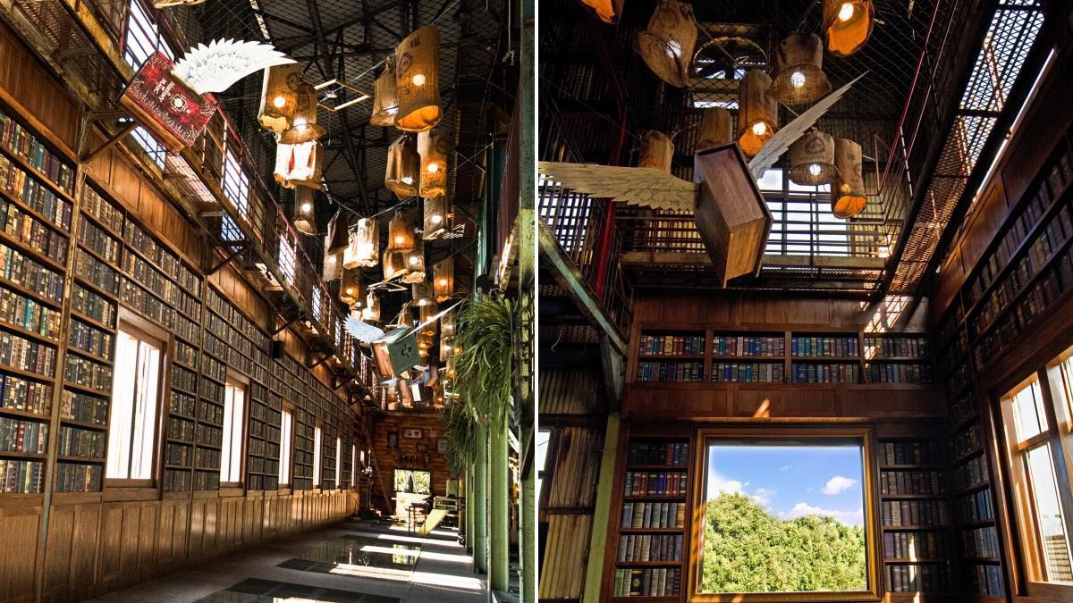 麻瓜也能體驗的魔法世界!台南文創園區「魔法工廠」奇幻MAX,會飛的課本&掃帚恍如置身霍格華茲!