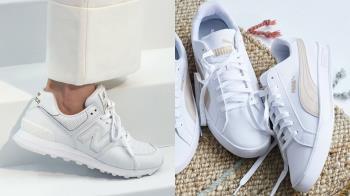 新的一年小白鞋該換了!15雙「網美白鞋」必收特輯,超百搭還自帶美腿模式!