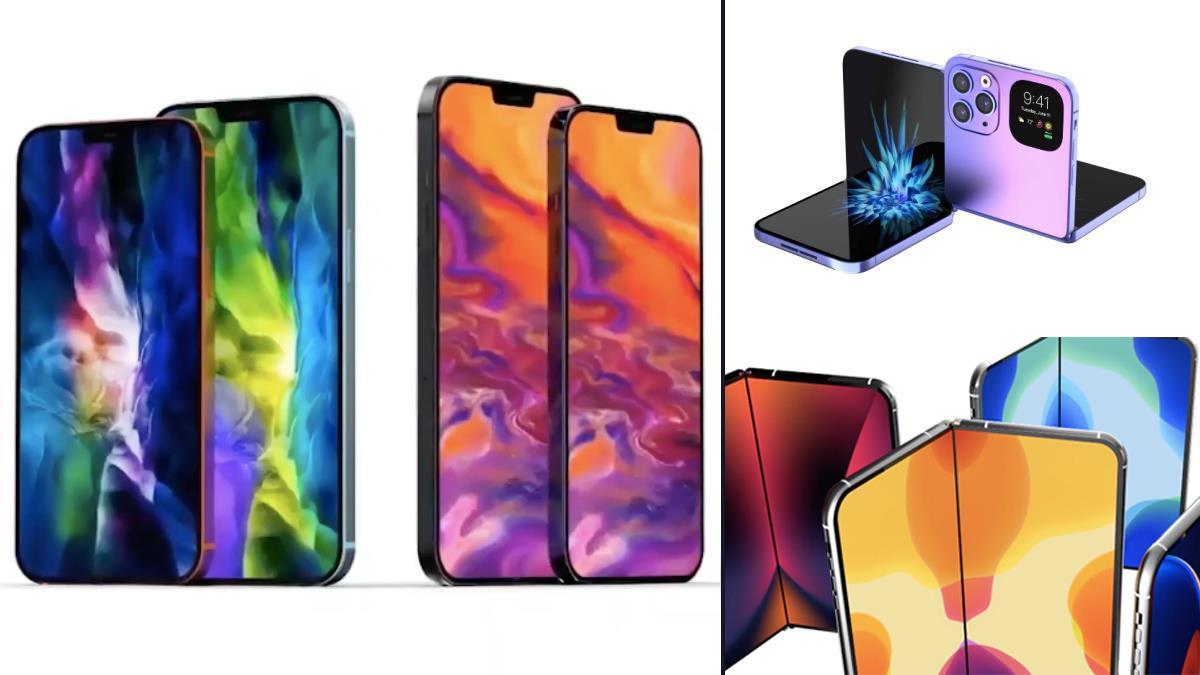 哀鳳的瀏海將bye了?「iPhone 13四大細節」傳聞曝光,摺疊機居然還能「大法師反摺」!