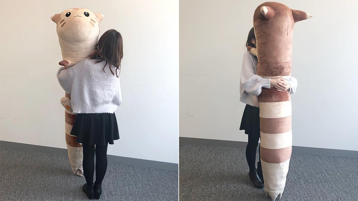這身高根本是理想男友!日本寶可夢中心推出「180公分」大尾立實體玩偶,1:1真實還原狙擊少女心臟!