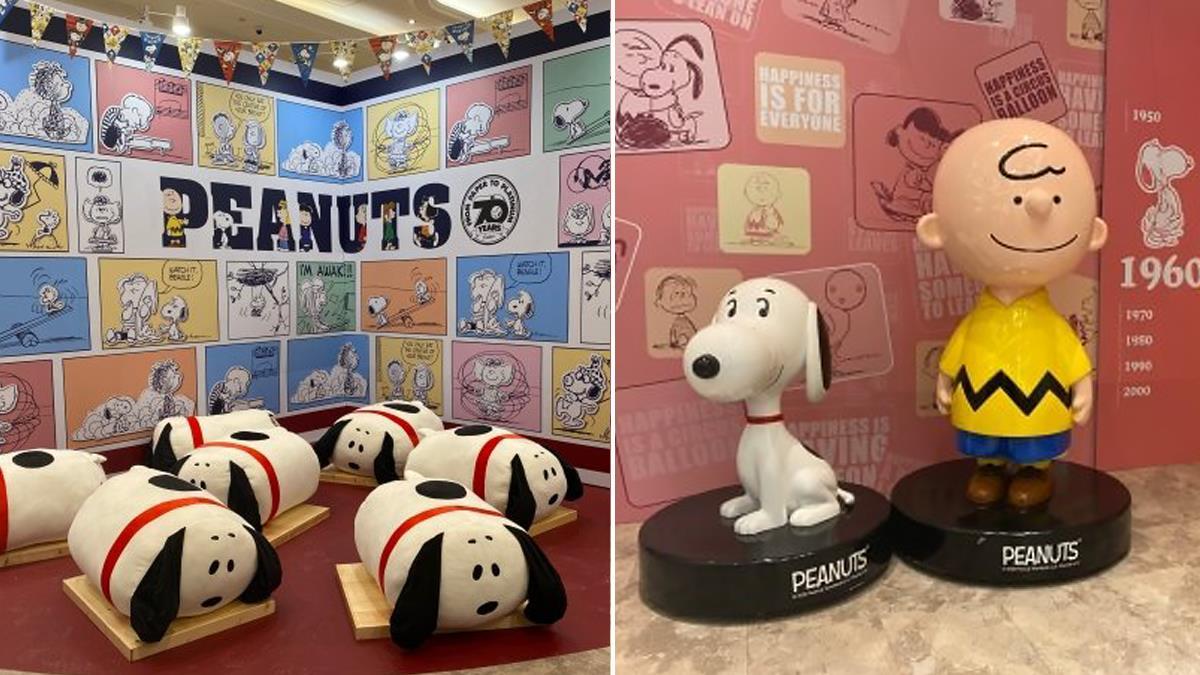 220公分史努比必須朝聖!「Snoopy70週年巡迴展」免費入場8大看點,限量造型口罩可愛生火~