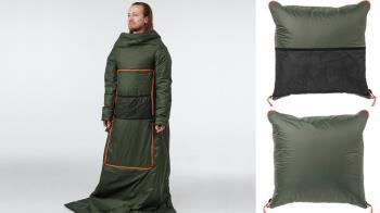 買不到暖暖包,乾脆變成暖暖包!IKEA「可穿式抱枕」超強機能抵擋寒流,穿著棉被上班超easy!