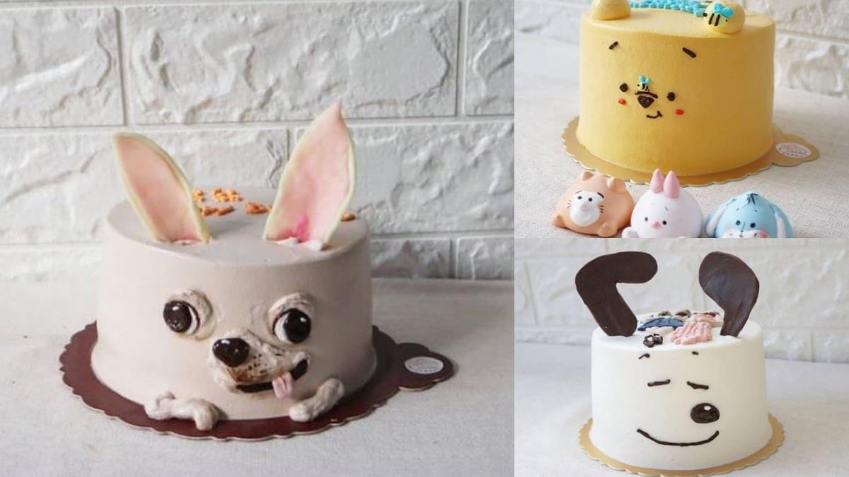 下不了手切開啊!台灣蛋糕師做出超真實「吉娃娃蛋糕」,睜眼吐舌太搞笑,連卡通人物也能可愛還原~