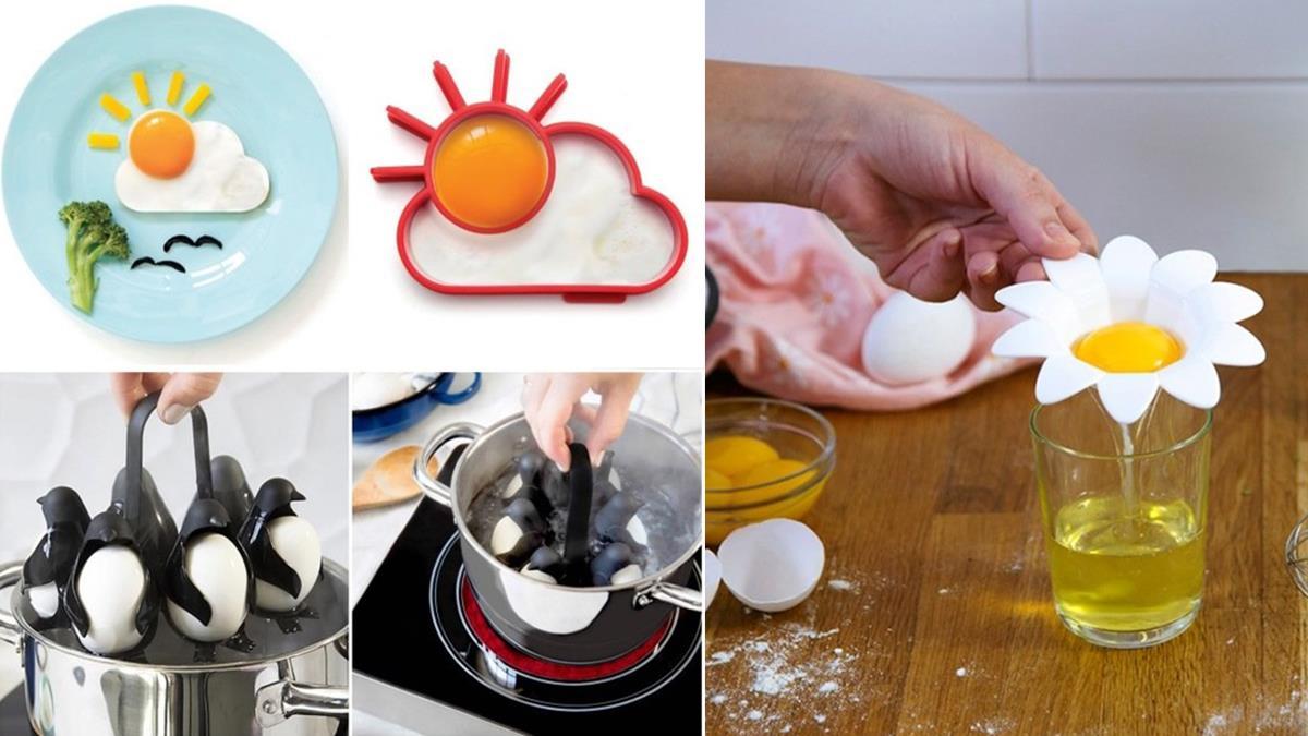 想煮蛋就交給企鵝先生吧!5款「蛋類料理神器」不只可愛更實用,以後都會乖乖幫忙煮飯啦~