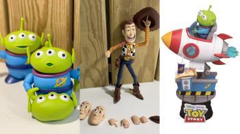 皮克斯迷的理智線斷裂!便利商店限量「玩具總動員集點活動」日期公開,巴斯竟有20個關節可變化!