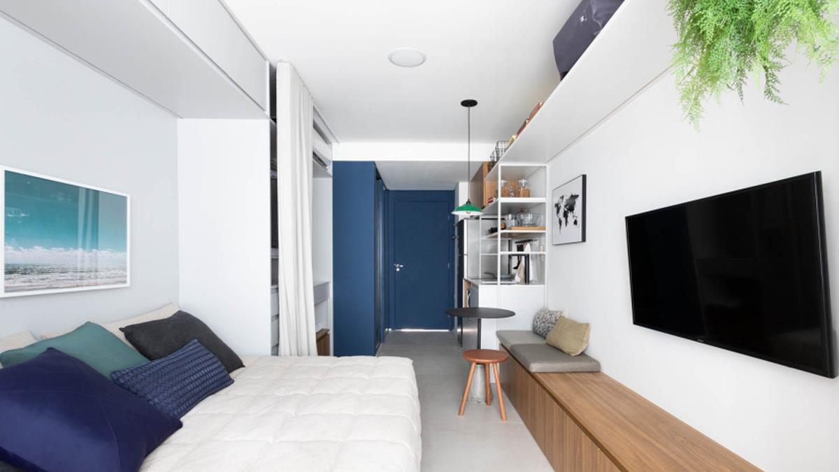 再怪的格局都有解!讓「狹長房間」變身舒適小窩的2種方式:床擺中間比放邊邊好?!