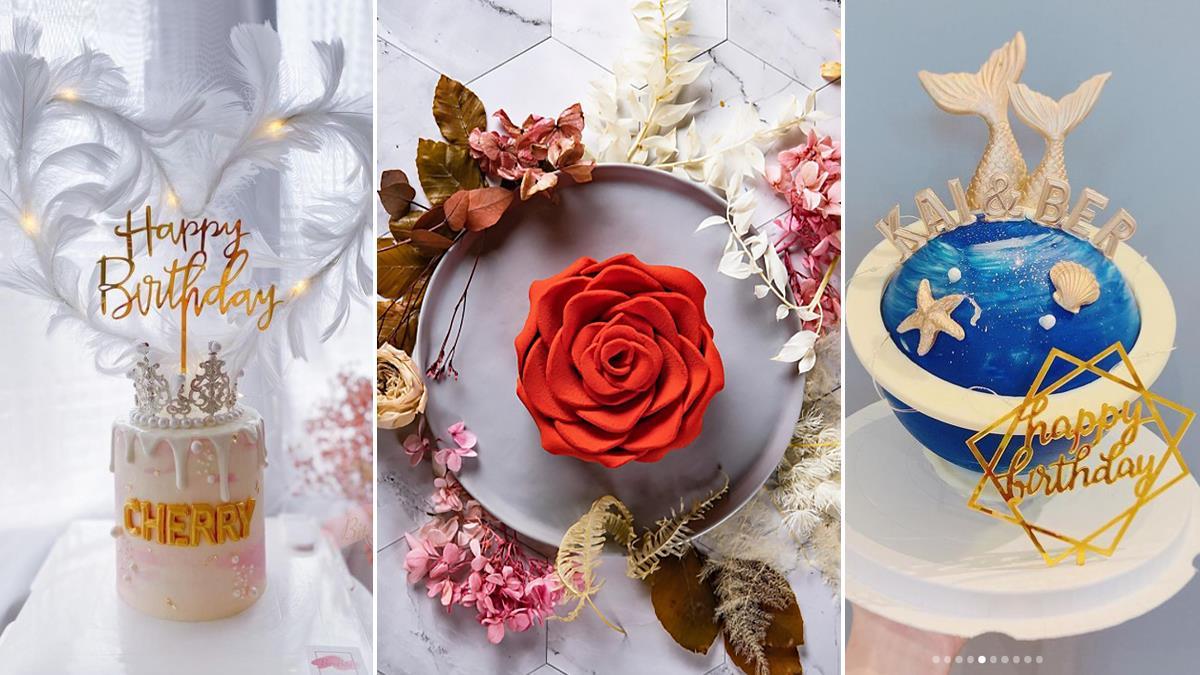 最美的愛情值得大肆紀念!特搜5款「浪漫浮誇訂製蛋糕」,絕美紅玫瑰蛋糕一個就抵99朵花啊♥