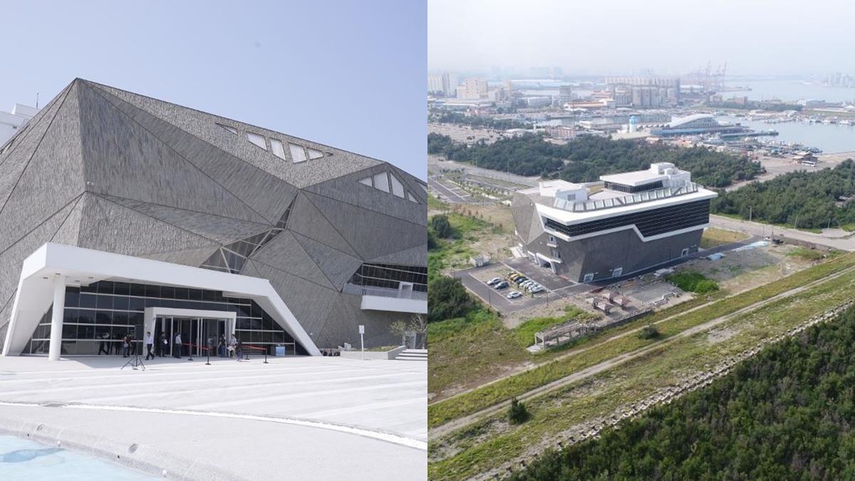終於有新消息!「中台灣首座海生館」正式營運時間公布,佔地3600坪+未來感岩體設計真的太美啦♥