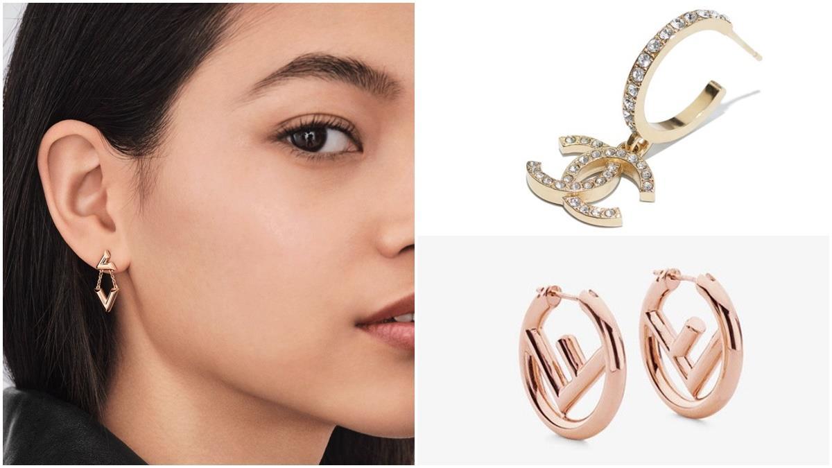 挑對耳環讓顏值level up!6款精品「LOGO耳環」推薦,低調奢華又獨具典雅超有魅力~