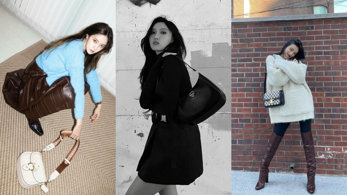 走春焦點非它莫屬!「韓星私服包款」推薦,馬鞍包讓穿搭更時髦、腋下包華莎、Somi都搶著背!