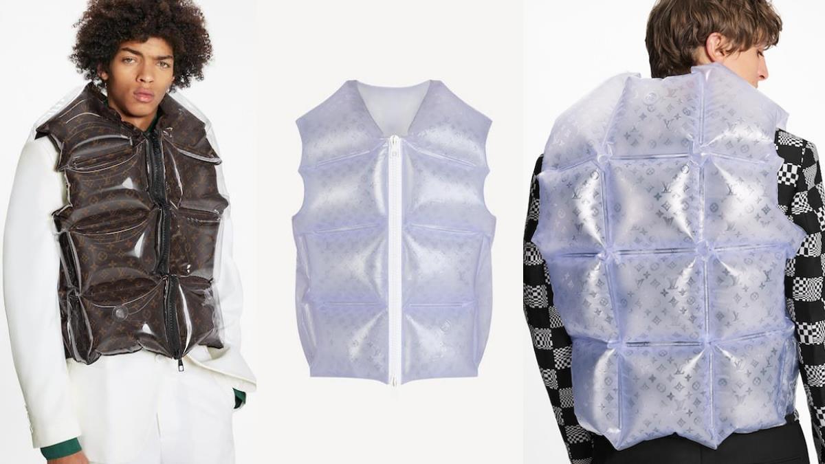 一起花錢買空氣!LV超奢華「充氣單品」背心、外套通通以空氣打造,想要什麼蓬度自己動手吹~
