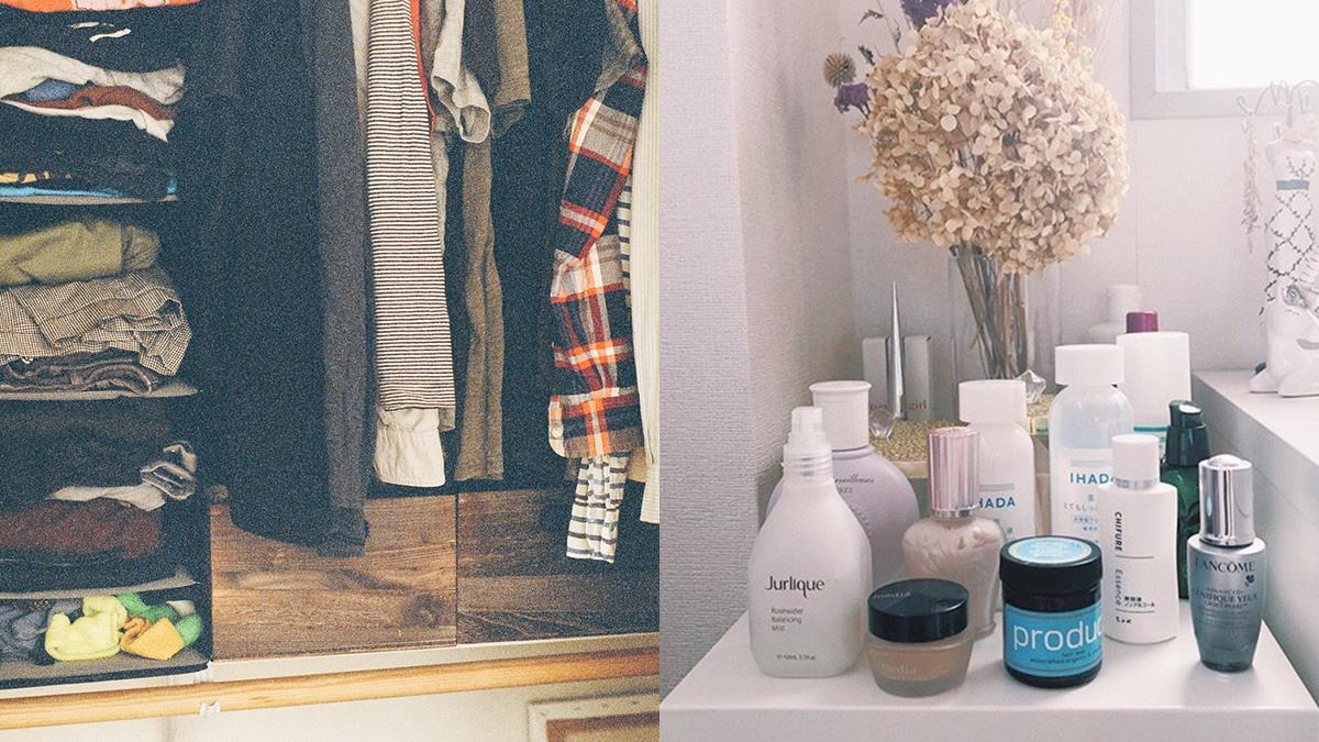 迎接極簡生活!9個「斷捨離&收納」小秘訣,讓房間時尚又整潔