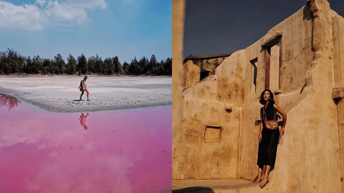 跟著莫莉去金門!台版摩洛哥、粉紅慈湖、歐厝戰車殘骸隨手一拍都是時尚大片