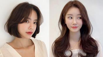細軟髮、扁塌髮人必看!韓國2021春夏髮型範本推薦,空氣捲可以讓髮量up up