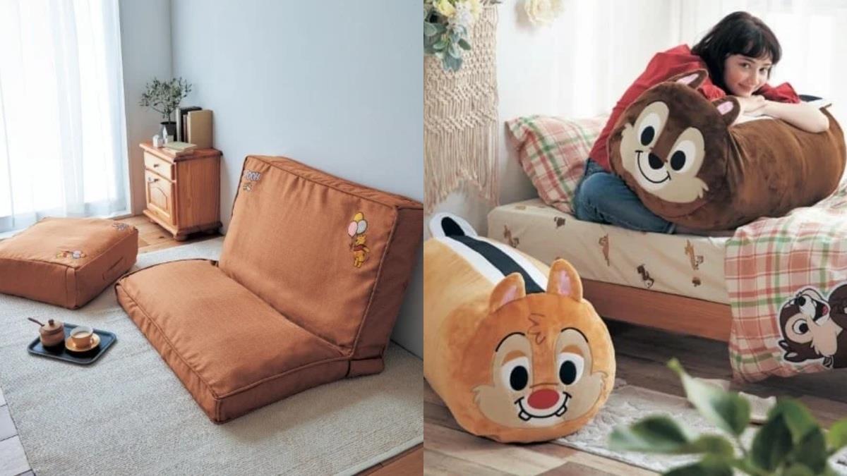 整理冬天厚重棉被超輕鬆!日本推出「迪士尼棉被收納袋」,枕頭和被被一秒變身維尼小沙發♥