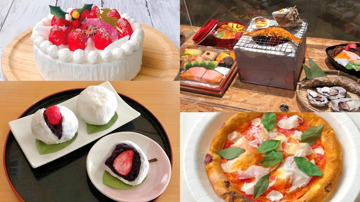 紙界的五星級主廚!日本年邁爺爺製作「和紙食物模型」,完美呈現美食樣貌看得都餓了~