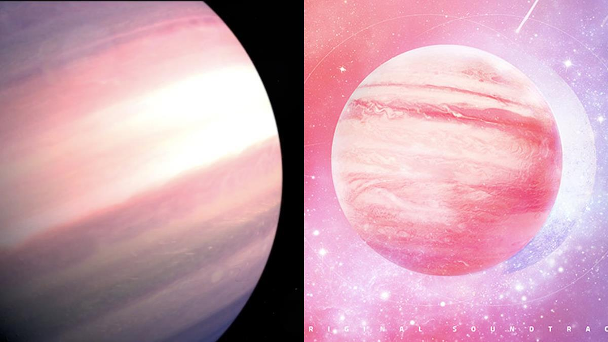 全宇宙最夢幻的「巨星」!NASA新發現「漸層粉紅星球」,無暇外表讓人想接受太空人訓練惹