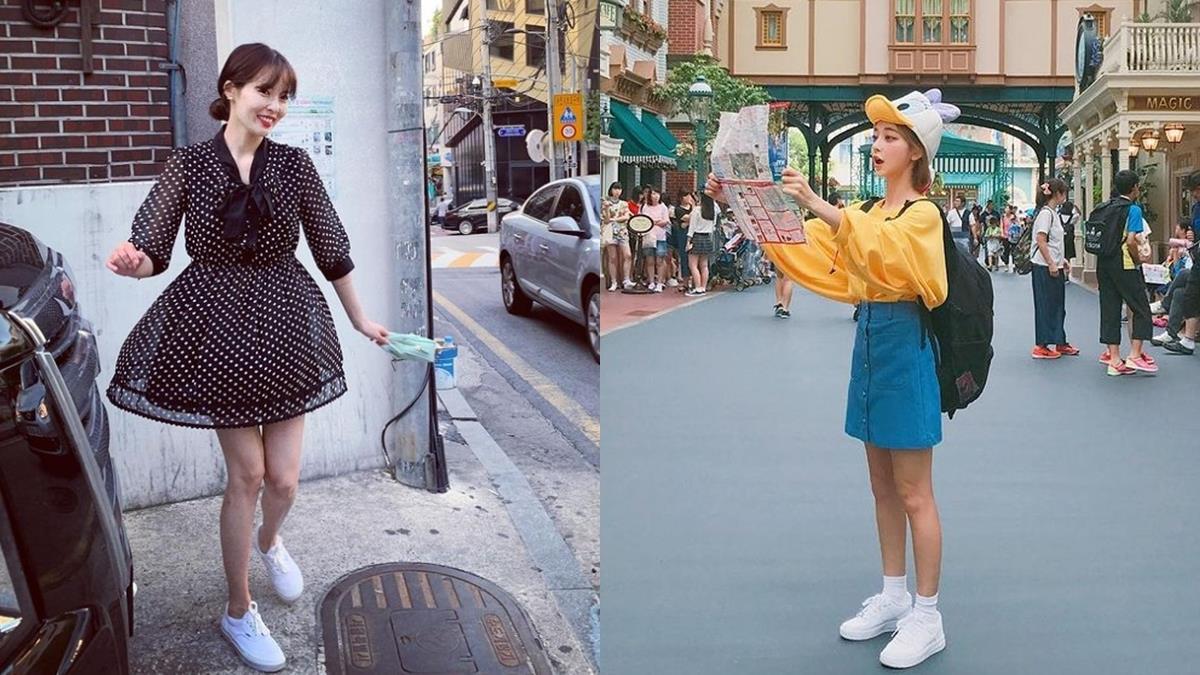 很重要所以說三次!5種小白鞋NG穿搭,打扮過度休閒秒變廣場舞大媽style~