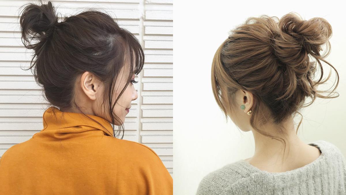 手殘女孩也能挑戰成功♡日系「自然感編髮」不論長短都OK,丸子頭就要留點鬚鬚才可愛啊~