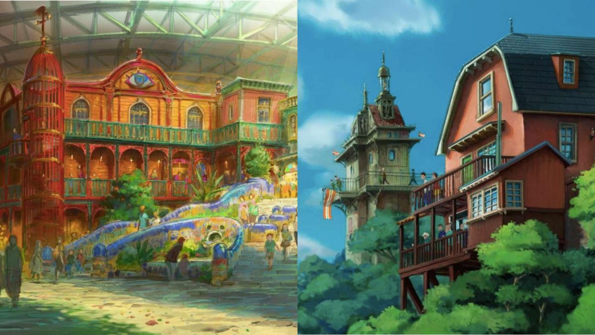 霍爾的城堡實體化!?日本「吉卜力公園」2023將開幕,首度公開5大區域規劃,經典場景全還原!