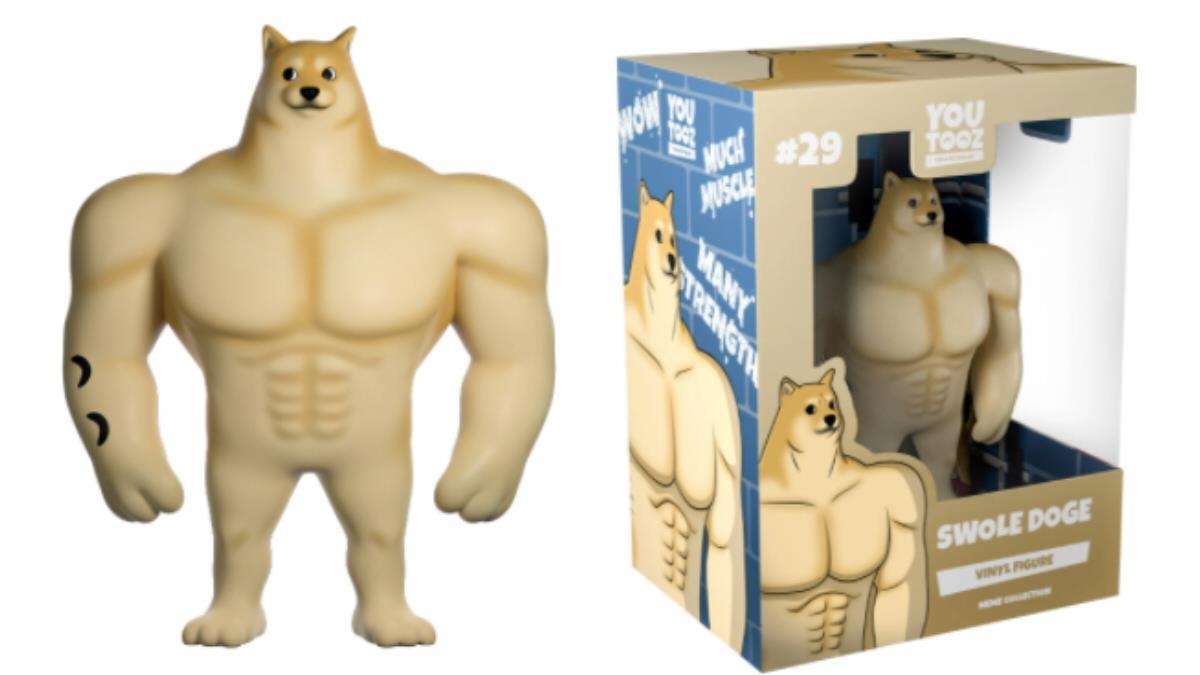 「以前的我」公仔化!迷因明星「強壯柴犬」即將實體化販售,堪比希臘雕塑的肌肉是在認真什麼啦XD