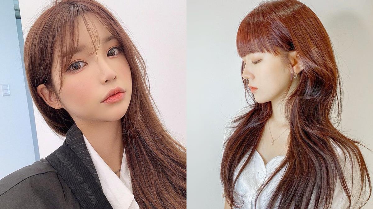活像是仙女下凡!2021春夏韓國「紅棕顯白髮色」推薦,誰染都仙氣滿滿~
