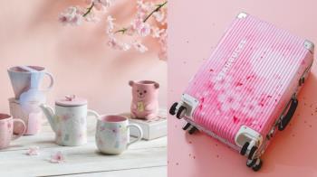 下起了一場唯美的櫻花雨🌸!星巴克「粉嫩春櫻系列」不容錯過,夜櫻款直接重擊少女心