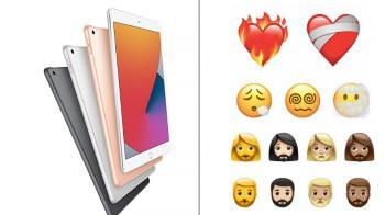 重磅消息連發?!蘋果iOS全新「火燒心」多款勾椎貼圖,加碼新發表會日期曝光「傳將有新iPad」!
