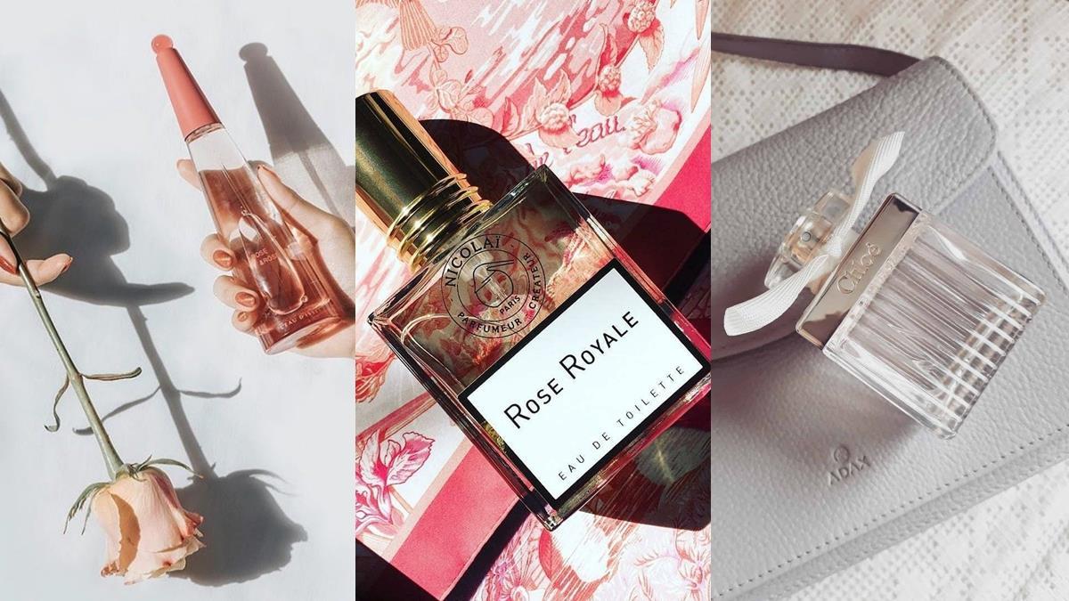 散發出初戀的氣息!5款平價「玫瑰香水」推薦,少女感的甜美花果香是脫單必備