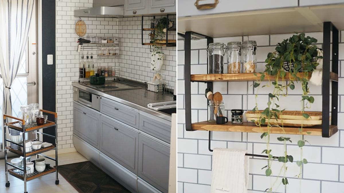 空間瞬間變大變清爽!收納達人示範3招「廚房收納術」:拋棄傳統瀝水籃、煮飯動線更流暢!