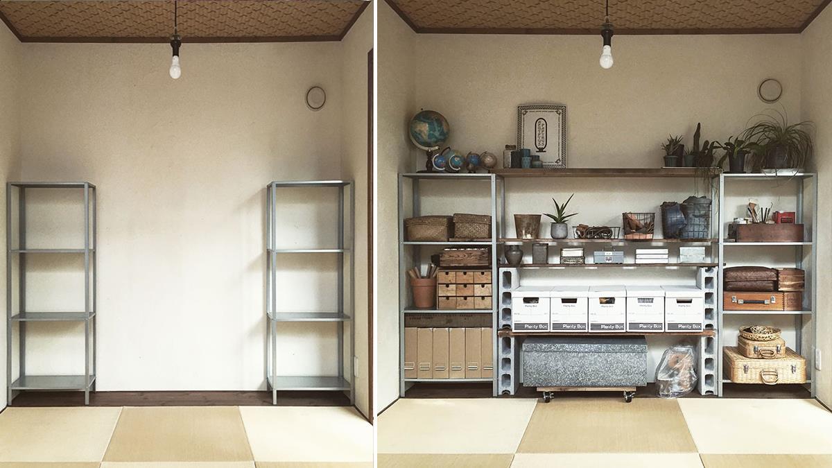 家具 小宅救星!實用美觀兼具的牆面收納 DIY