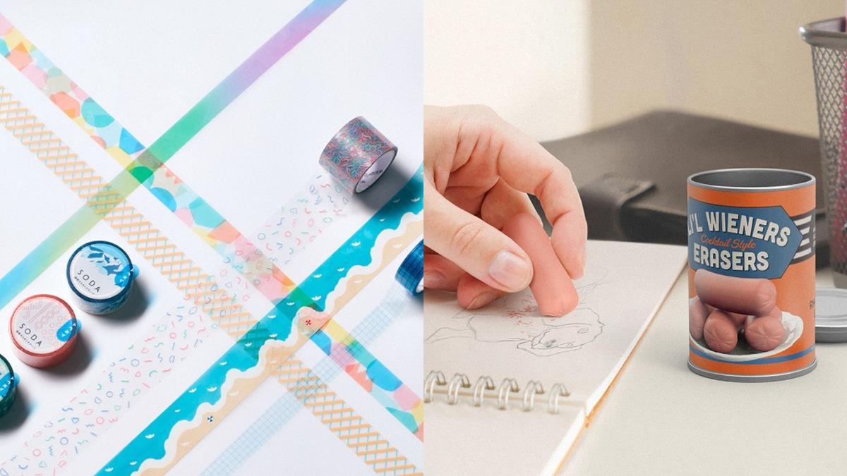 為你搜刮世界各地最美文具!降低開學厭世感的創意「高顏值文具清單」,被罰站的便條紙藏貼心理由!
