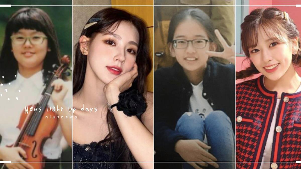 女神降臨真實上演!5位韓團女偶像「眼鏡畢業照驚人對比」:眼鏡書呆妹都是潛力股啊!