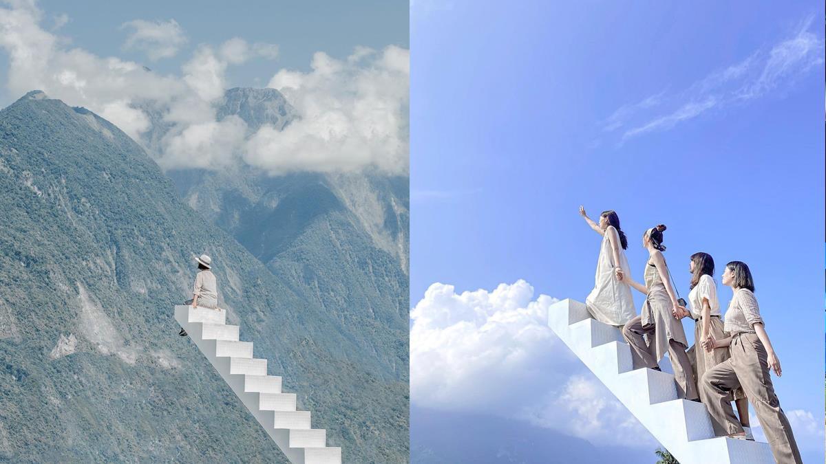 直達雲端的樓梯太夢幻!爆紅「天堂階梯」懼高症也想爬,登完階梯還能跟小動物討療癒啊♥