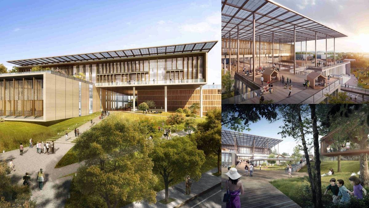 最美圖書館將誕生!「台南國家圖書館」萬坪綠地超夢幻,樹屋、戲院讓人捨不得離開啊~