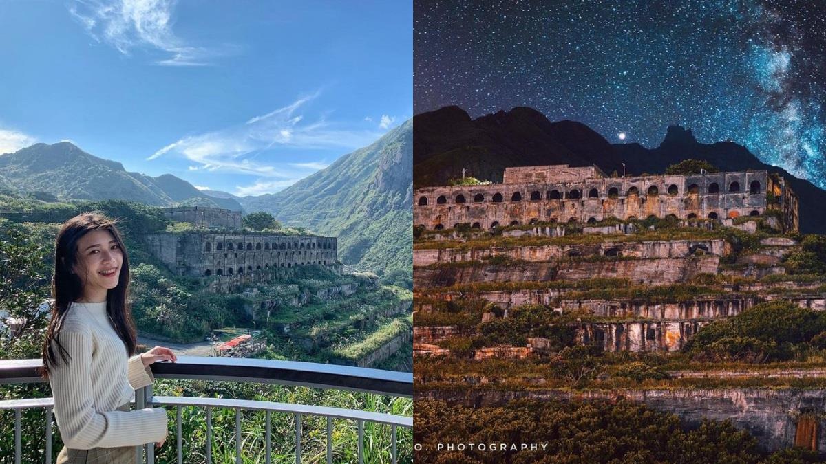 天空之城遺址就在台灣?!新北「十三層遺址」夜晚看更加神秘,周邊水湳洞、陰陽海也超好拍!