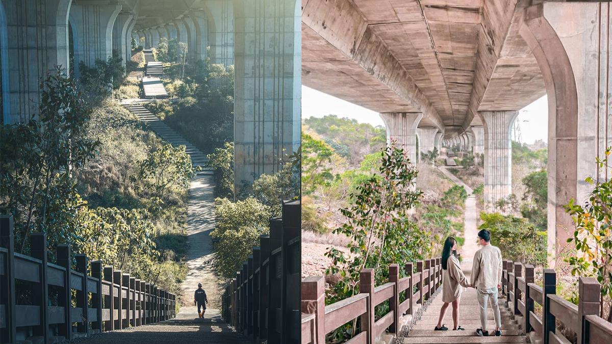 綿延到天邊的奇幻景觀!台中「巨龍萬里長城」壯闊秘境曝光,散步、拍照獨享幽靜景致~