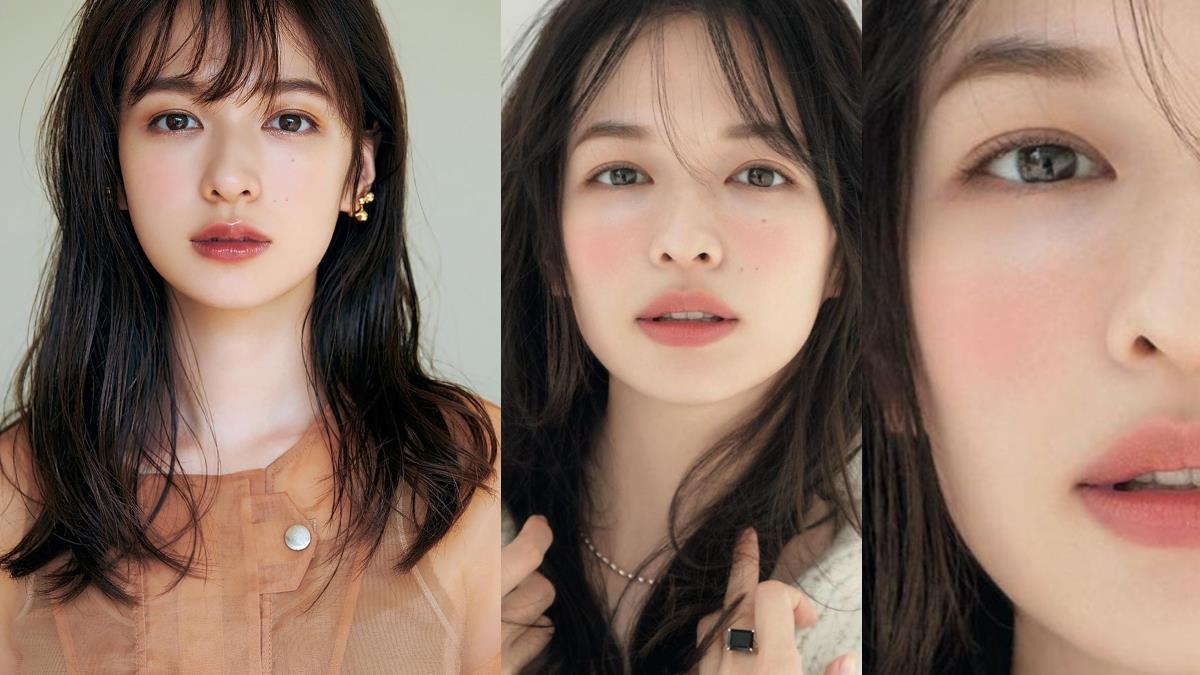 打造100%初戀感!日本女星森繪梨佳「日雜妝」超惹火,溫柔又魅惑的下垂感眼妝能增加無辜感